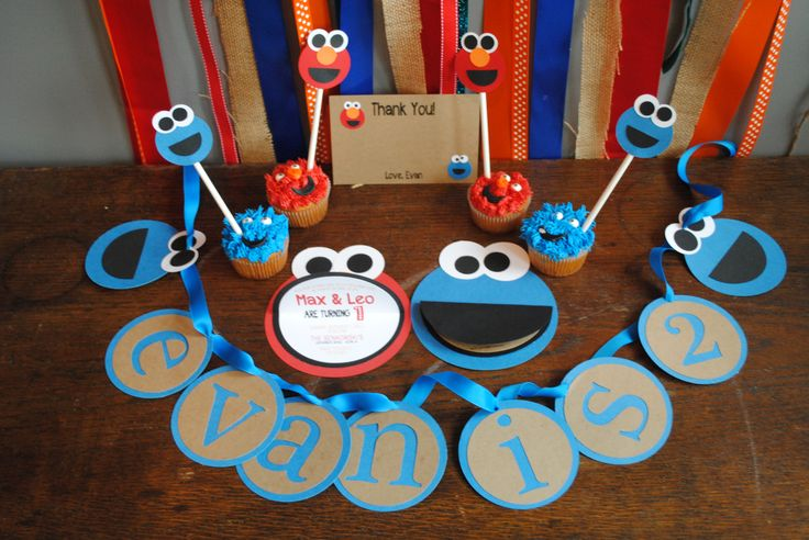 Sesame Street Birthday Party Package