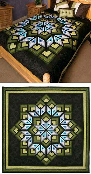 Starburst Quilt Pattern...from Keepsake Quilting