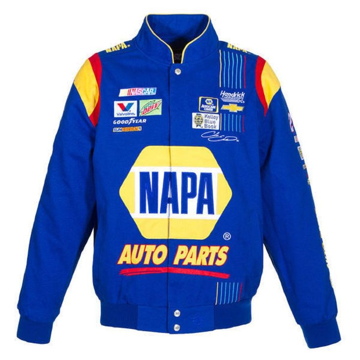 2017 Chase Elliott Napa Nascar Jacket Size Medium