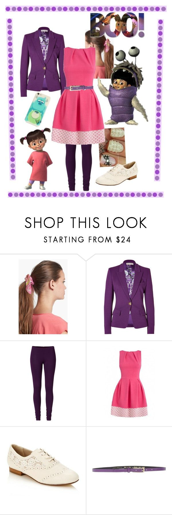 """Boo!"" by faleur102 ❤ liked on Polyvore featuring L. Erickson, Disney, Emilio Pucci, Rocha.John Rocha, Coccinelle, disney, Boo and monstersinc"