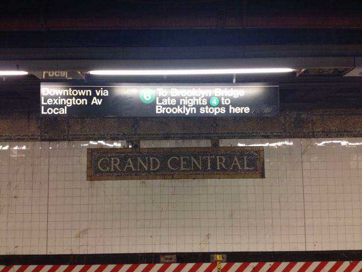 Grand Central metro station