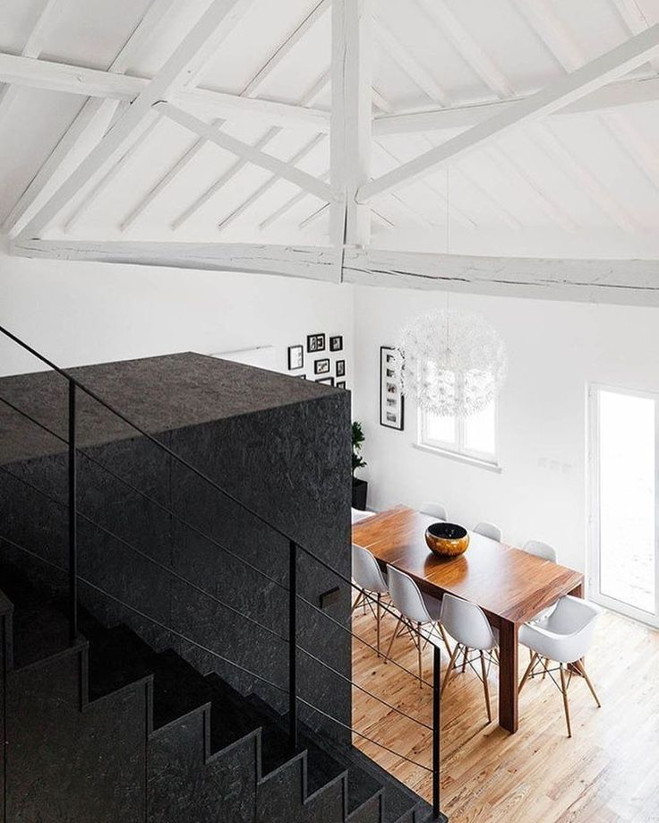 33 Staircase Designs Enriching Modern Interiors With: 25+ Best Ideas About Eames Dining Chair On Pinterest