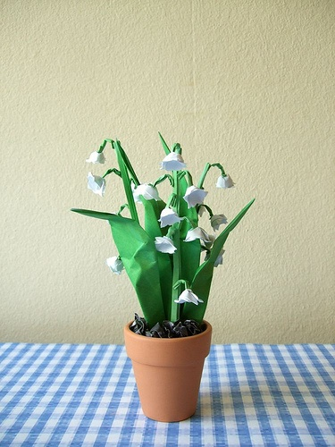 Lily of the Valley origami