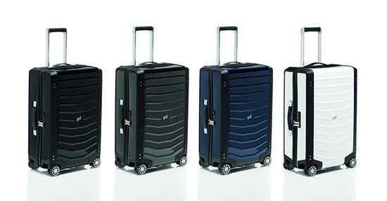 """Porsche Design is expanding the successful """"Roadster"""" softcase travel luggage collection"""