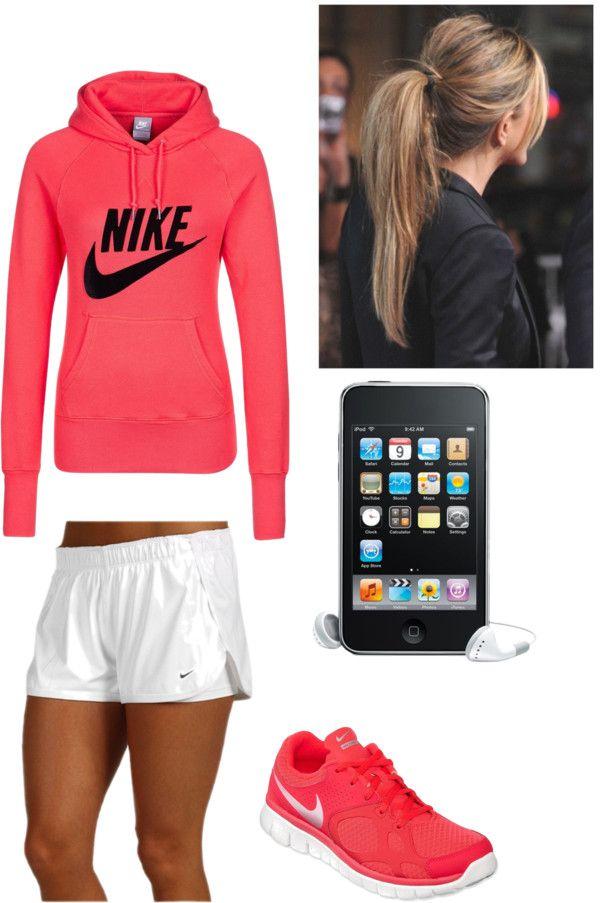 """""""Nike Running Gear"""" by bettierocka on Polyvore"""