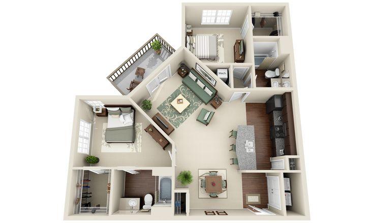 3d Floor Plan Small House Design Plans Floor Plan Design Home Design Floor Plans