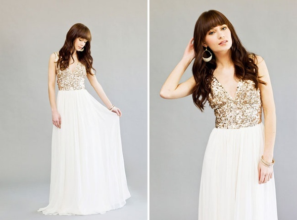 Images of Sequin Top Dress - Reikian