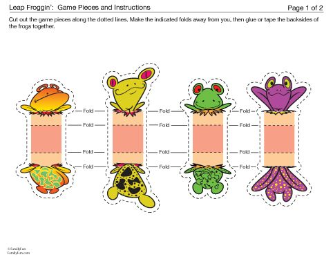Selective image inside game pieces printable