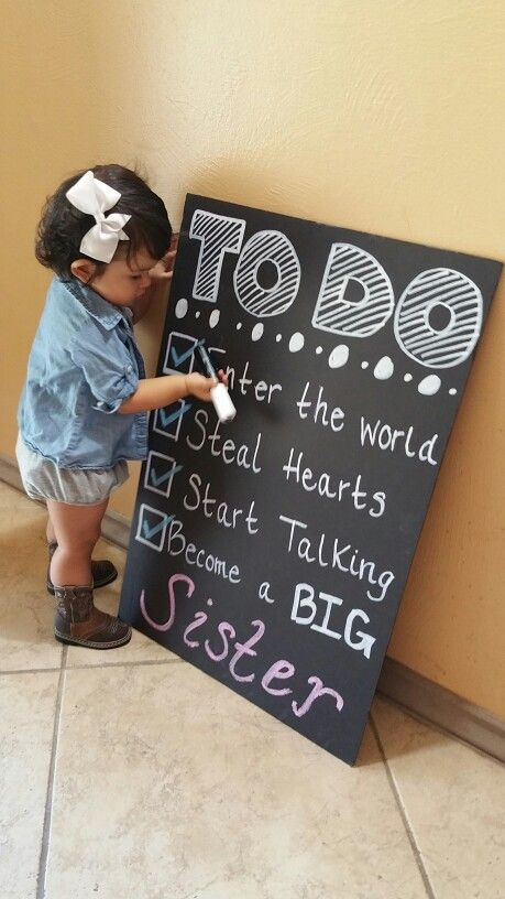 Best 25 Big Sister Announcement Ideas On Pinterest Baby