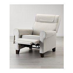 MUREN Recliner - Nordvalla medium gray - IKEA $500 available in gray