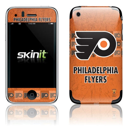 Philadelphia Flyers Orange Vintage iPhone 3G/GS Skin