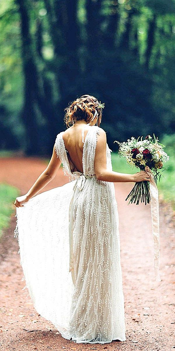 24 Simple Wedding Dresses For Elegant Brides❤ For brides who are looking for a…