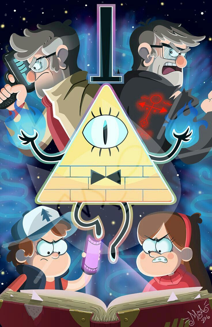 WallPaper de Gravity Falls