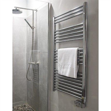 radiateurs électrique salle de bain 500 W 60x120 sur planetebain