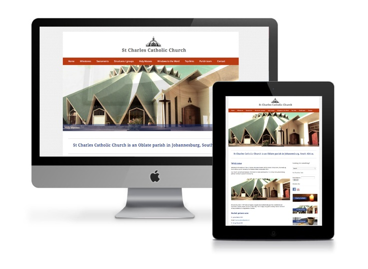 WE are the proud designers of the St Charles parish website! www.saintcharles.co.za