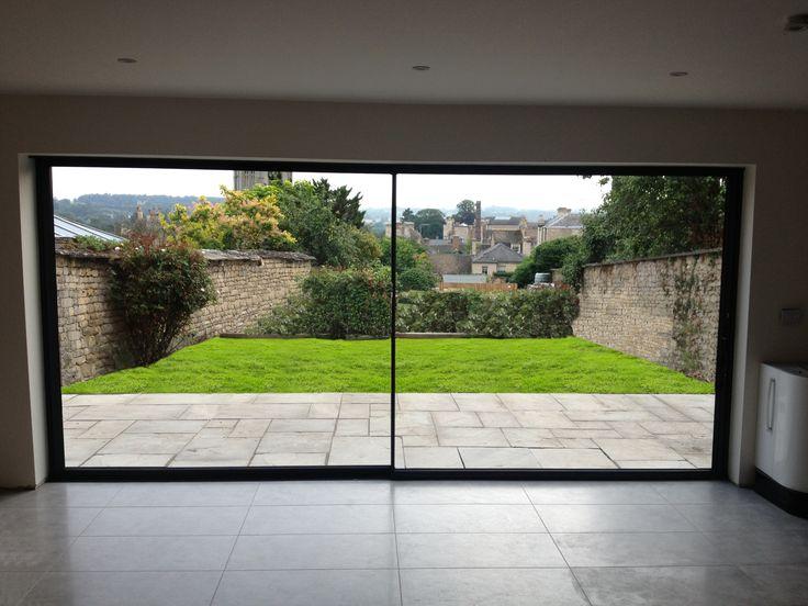 1000 images about ultra slim aluminium sliding door ideas for Large sliding glass patio doors