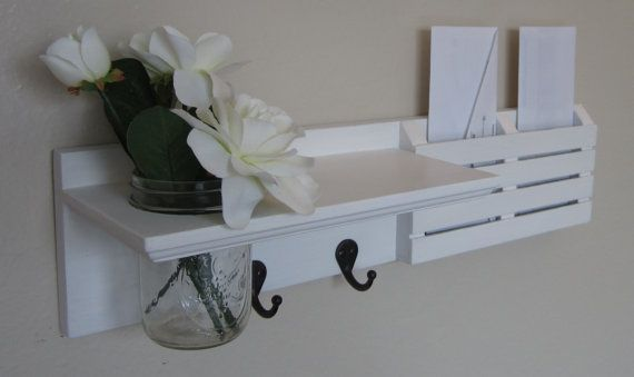 Shabby Chic Nautical Beach Cottage Entryway by BeachCityCreations, $39.95