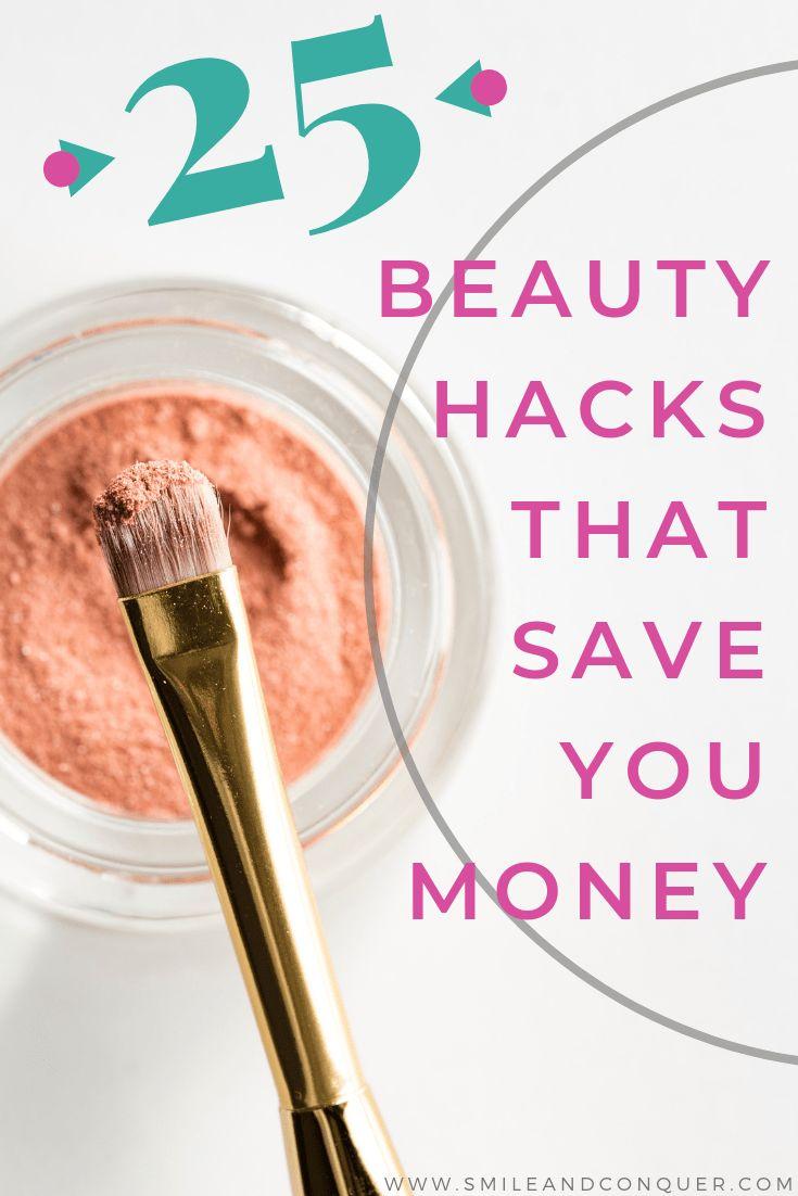 25 Beauty Hacks to Save Money – Beauty: Budget Makeup & Skin Care