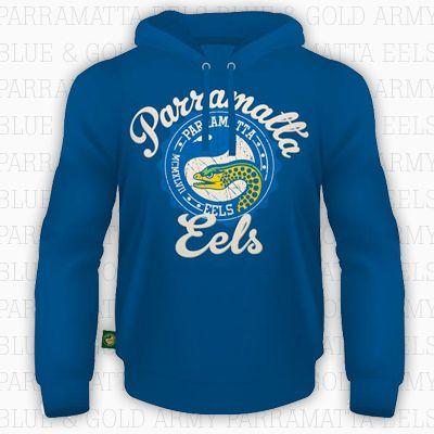 2014 Parramatta Eels Heritage Light Weight Hoody $50