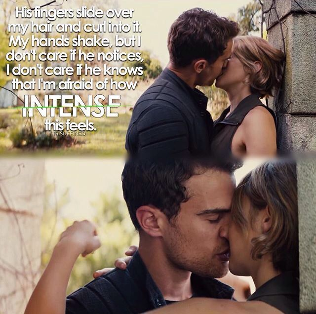 Movie Quotes About Kissing: 4140 Best Divergent Images On Pinterest