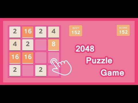 Download 2048 game https://play.google.com/store/apps/details?id=com.puzzle.game2048.compo2048game