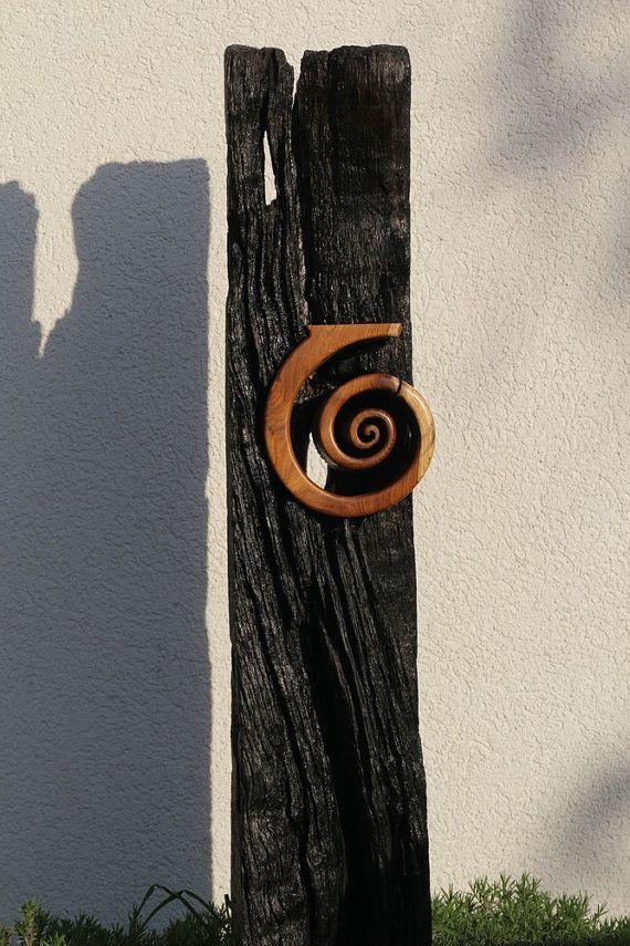 Espiral el nacimiento por HolzKunstWerk en Etsy