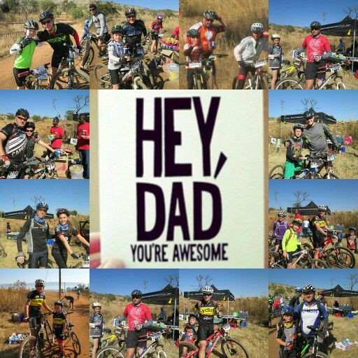 Mountain Bike race on Fathers Day