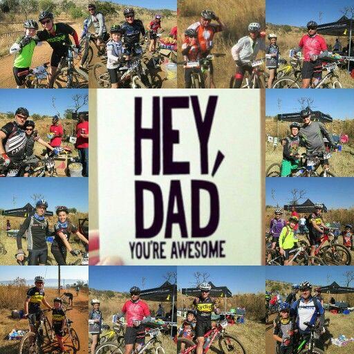 Mountain Bike race on Fathers Day