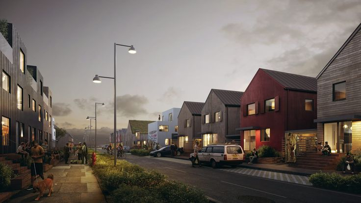 The housing development will reflect the Scandinavian style economic efficiency and social housing (Image copyright MIR)