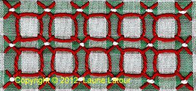 Las muchas miradas de la guinga Lace puntada - Needle'nThread com.