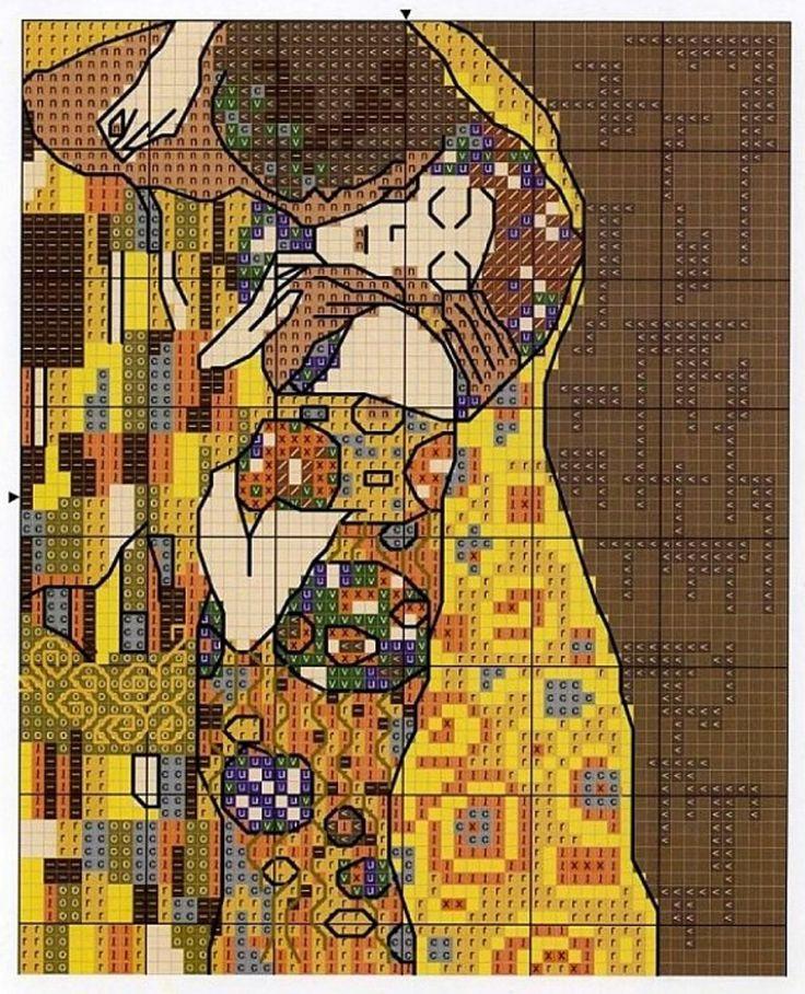 30 best Клімт images on Pinterest | Gustav klimt, Klimt und Punto croce