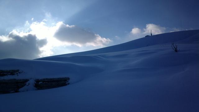 Tramonto sui monti Lessini - 2013