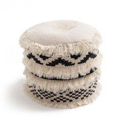 Pouf ethnique, TRIKI La Redoute Interieurs - Fauteuil, pouf, poir