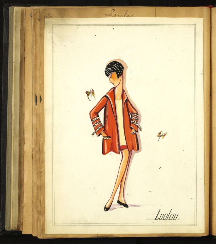 LOULOU 1924 © Patrimoine Lanvin. #Lanvin125