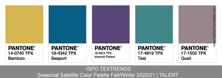 Ispo Textrends Color Trends Fall Winter 2020 21 Farbtrends Herbst Winter Trends