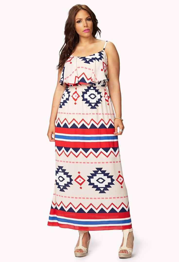 Southwestern Maxi Dress | FOREVER21 PLUS - 2054305432