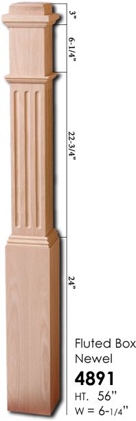Houston Stair Parts Stair Box Newels Stair Iron Newels And Wood Newels  Selection