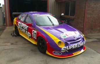 The original car, SER2, will be on display at Sandown