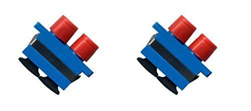 (2 Pack) FC-SC Fiber Optic Cable Adapter Duplex Coupler Female F-F RiteAV http://www.amazon.com/dp/B00WU1U2F0/ref=cm_sw_r_pi_dp_Uiwqvb03JH8X4