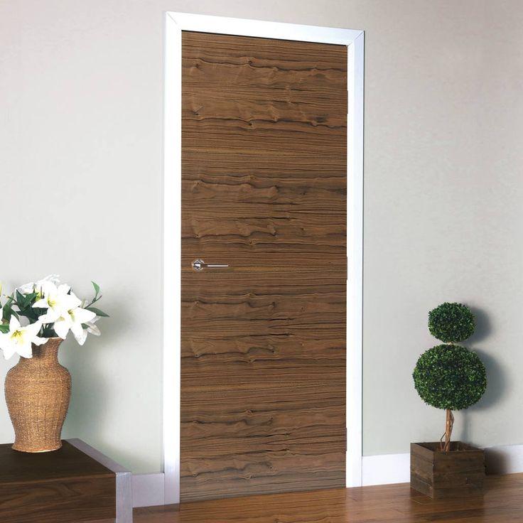 JB Kind Fernor Flush Walnut Veneered Door is Pre-Finished. #fernordoor #internalwalnutdoor #walnutdoor