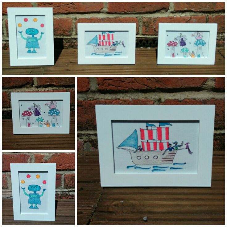 Hand drawn pictures, all original