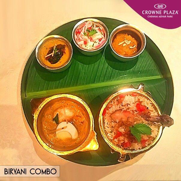 Nothing can be better than an #Authentic #Biryani #Combo at #Dakshin #CrownePlazaChennai #AdyarPark