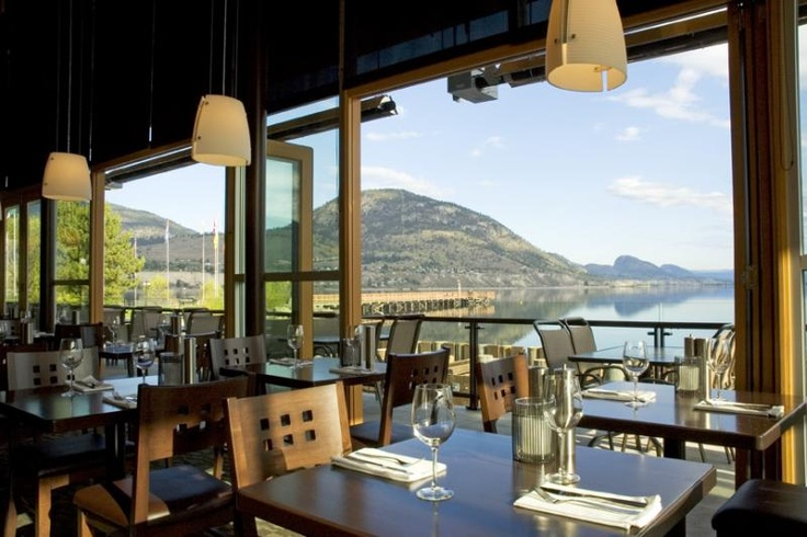 Hooded Merganser Restaurant 21 Lakeshore Dr. W., in the Penticton Lakeside Resort