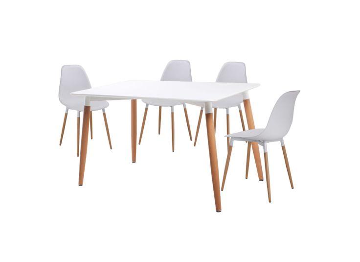 Eetkamer met 4 stoelen Yeti-252155-medium