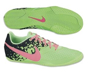 3% off of your order over $100! Nike FC247 Elastico II Youth Indoor Soccer Shoes (Neo Lime/Black/Pink Flash) #soccercorner
