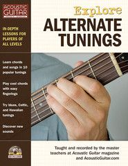 Experimenting with Open-D Tuning – Acoustic Guitar