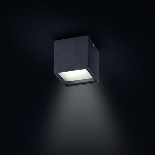 Geradliniger Aufbaustrahler Siri LED in versch. Farben...