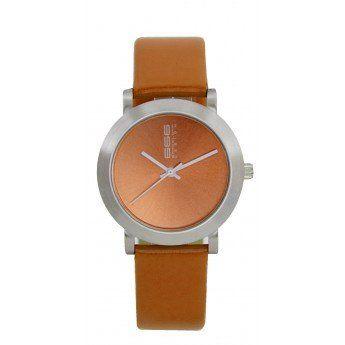 Un sencillo diseño liso de color naranja que te combinará a la perfección con cualquier estilo de ropa, aportándote color. http://www.tutunca.es/reloj-naranja-666barcelona-coleccion-rambla