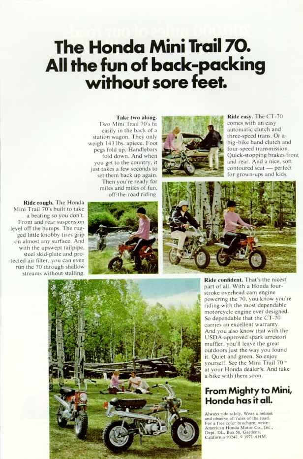 Honda Mini Trail 70 (USA).