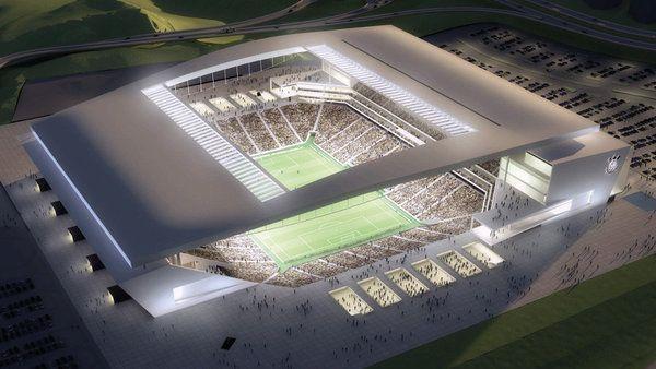 La coupe du monde de football illuminée par Osram // Célèbre société d'éclairage, Osram affirme son savoir-faire avec son travail de titan réalisé sur le stade Corinthians de São Paulo, le plus grand stade au monde, qui accueille la coupe du monde 2014.
